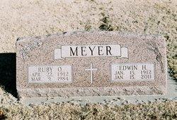 Ruby Oletha <i>Wright</i> Meyer