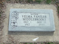 Velma Ruth <i>Kline</i> Middlebrooks