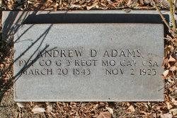 Andrew Dow Adams