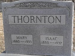 Mary <i>Saunders</i> Thornton