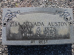 Ziba Nevada <i>Williams</i> Auston