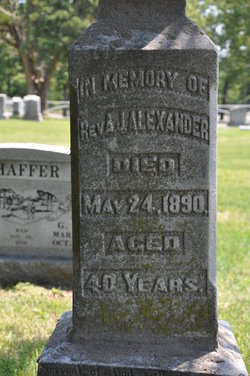 Adoniram Judson Alexander