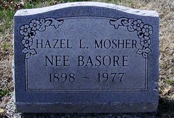 Hazel L <i>Sutton</i> Basore