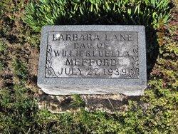 Barbara Lane Mefford