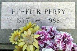 Ethel Lee <i>Bertrand</i> Perry