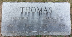 Frances H Fannie <i>Van Fleet</i> Thomas