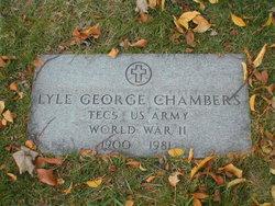 Lyle George Chambers