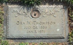 Ora <i>Whitley</i> Thompson