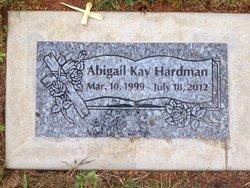 Abigail Kay Abby Hardman