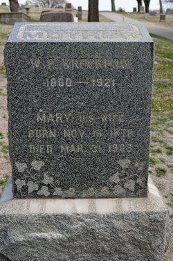 Mary Elizabeth <i>Guthmann</i> Krecklow
