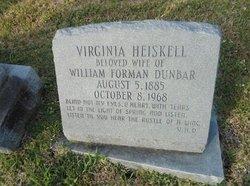Virginia <i>Heiskell</i> Dunbar