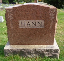Emma E. <i>Leonard</i> Hann