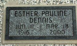 Esther Pauline <i>Sheffield</i> Dennis