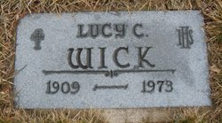 Lucy <i>Diderrich</i> Wick