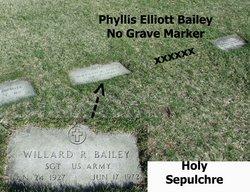 Phyllis <i>Elliott</i> Bailey