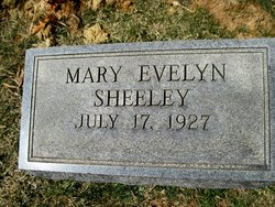 Mary Evelyn <i>Stephenson</i> Sheeley