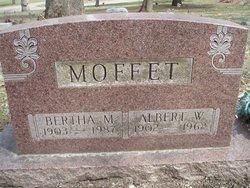 Albert W Moffet