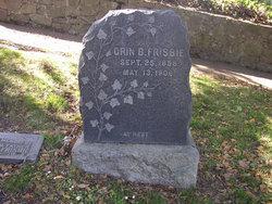 Orin Burchard Frisbie