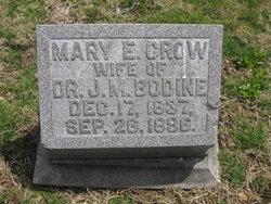 Mary E. <i>Crow</i> Bodine