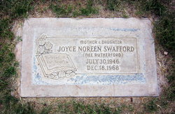 Joyce Noreen <i>Rutherford</i> Swafford