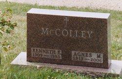 Agnes Margaret <i>Wakefield</i> McColley