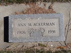 Ann May Ackerman