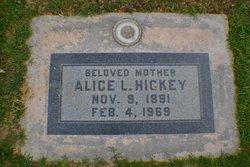 Alice L. <i>Chapel</i> Hickey