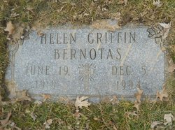 Helen <i>Griffin</i> Bernotas