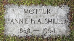 Fannie H Alsmiller