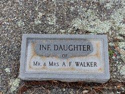 Infant twin daughter Walker