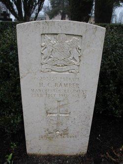 Pvt Henry Charles Bamber