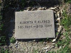 Alberta Peggy Alfred