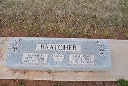 Ola Mae <i>Davis</i> Bratcher
