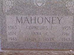 Cornelius F. Connie Mahoney