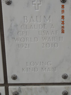 Claude A Baum