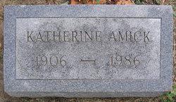 Katherine Louise <i>Scott</i> Amick