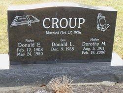 Dorothy M <i>Daubenspeck</i> Croup