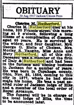 Charles M Rutherford