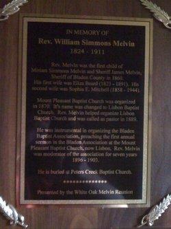 William Simmons Melvin