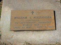 William L Alexander