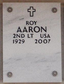 Lieut Roy Aaron
