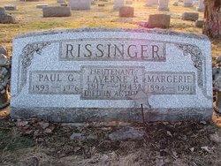 Lieut LaVerne Paul Rissinger