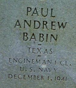 Paul Andrew Babin