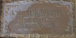 Joseph R Webster