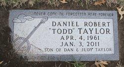 Daniel Robert Todd Taylor
