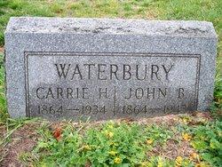 Carrie H <i>Roberts</i> Waterbury