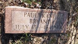 Paul Kane Bryant