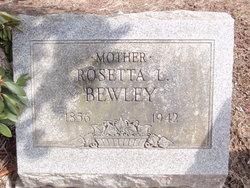 Rosetta Louise <i>Rogers</i> Bewley