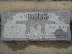 Mary Ellen <i>Barker</i> Anderson