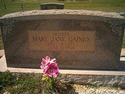 Mary Jane <i>Moore</i> Gaines